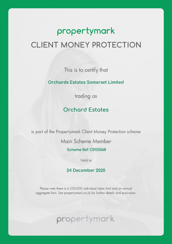 Orchards-estates-Client-Money-Protection-Certificate